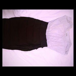 EnFocus Studio dress black and white size 10